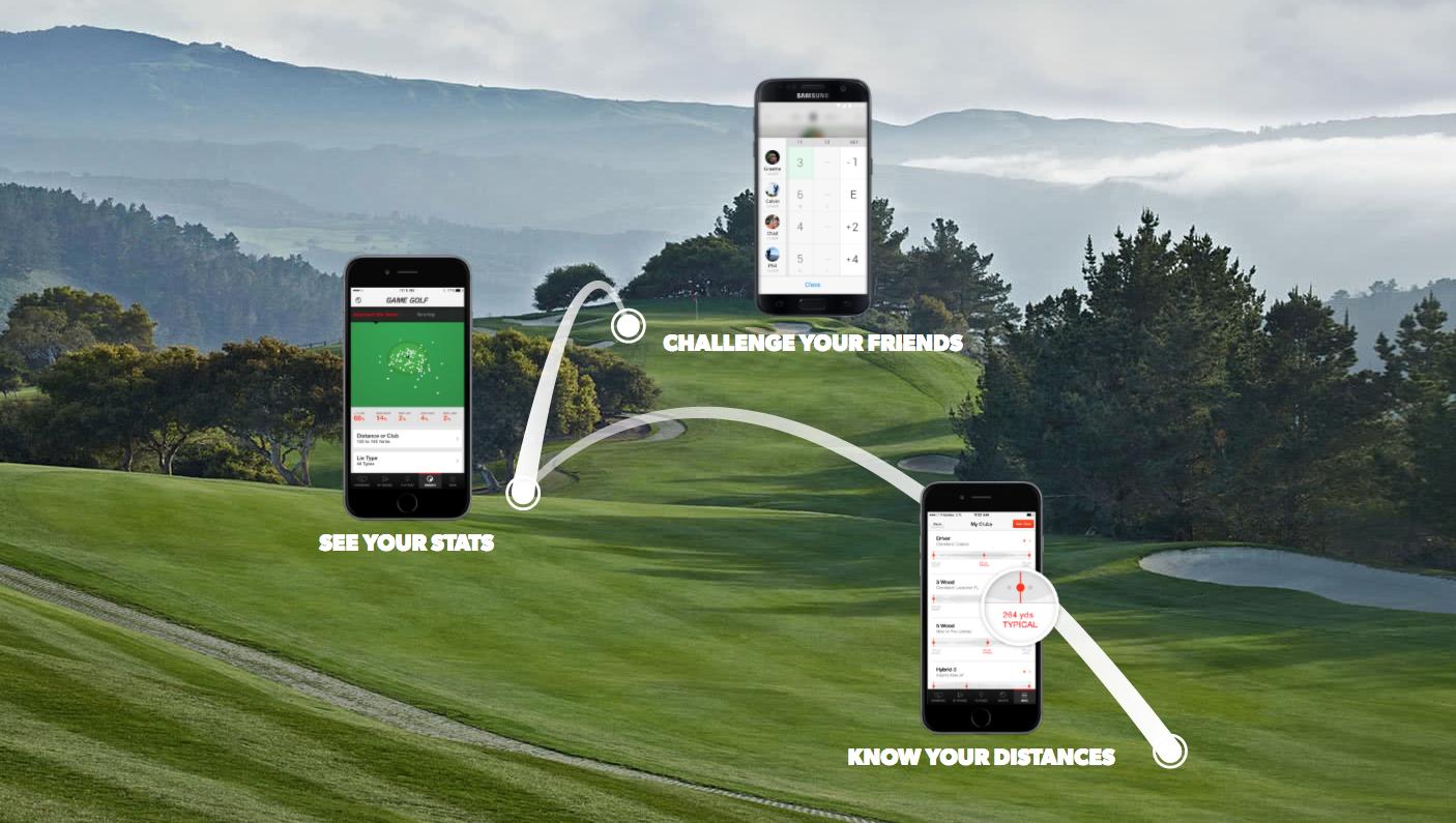 game golf live digital tracking system. Black Bedroom Furniture Sets. Home Design Ideas